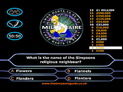Simpson's Millionaire spel