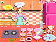 Barbie cooking valentine blancmange Gioco
