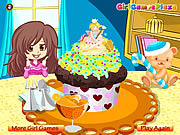 Play Colorful cupcake Game