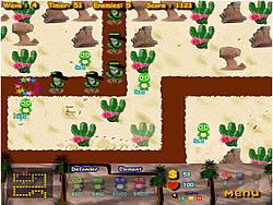 Turtle Defense game