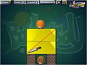 Play Slashing blocks Game