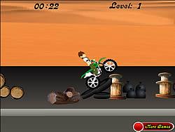 Permainan Ben 10 Bike