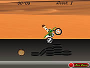 Play Ben 10 bike Game