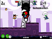 Ninja Hamsters vs Robots game