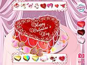 Juega al juego gratis Valentine's Cake