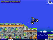 Play Super sonic motorbike Game