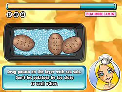 Barbie Baked Potato game