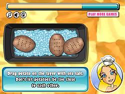 Gioca gratuitamente a Barbie Baked Potato