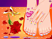 Jugar Style your feet Juego