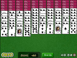 Permainan Spider Solitaire
