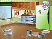 Play Cooking banana sour cream bread Game