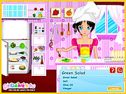 Play Cook with sandy salad recipes Game