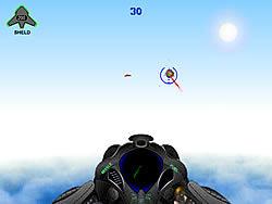 3D Spacehawk game
