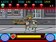Play Zombie vs police Game