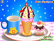 Play Ice cream cone fun Game