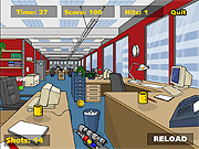 Play Stress relief paintball Game