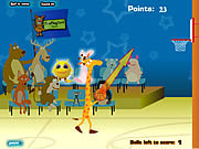Giraffe Basketball game