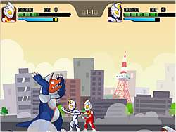 เล่นเกมฟรี Ultraman 2