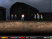Chơi trò chơi miễn phí Zombie Baseball 2