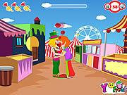 Play Clown kiss Game