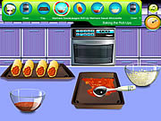 Chicken Lasagna Roll-Ups game