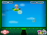 Play Paris hilton fly Game