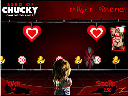 Seed of Chucky - Target Practice game