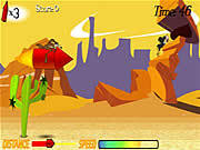 Play Wile e rocket ride Game