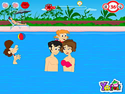 Swimming Pool Kiss game
