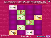 Music Intruments Matching Game game