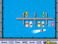 Park The Boat game
