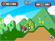 Play Mario motocross mania Game