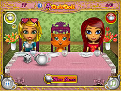 Toto's Tea Party game