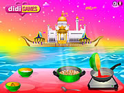 Play Chole garbanzo bean curry recipe Game