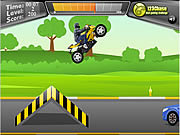 Play 2 wheeler stunt Game