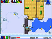 Play Mario helicopter Game