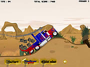 Play Transformers truck Game