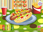 Play Hot diggity dog Game