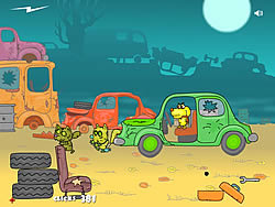 Zombie Cats game