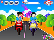 Play Riding on kiss Game