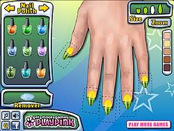 Fruit Nails game