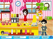 Popcorn Machine Serve game