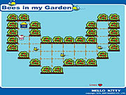 Play Bees in my garden Game