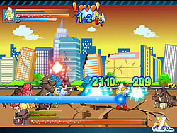 Ultraman vs Monsters game