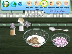 Sara's Cooking Class Swedish Meatballs game