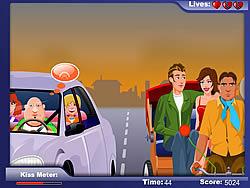 Kissing Rikshaw game