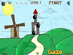Castle Bomber game
