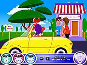 Play Drive n kiss Game