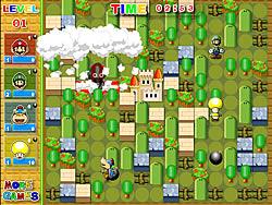 Gioca gratuitamente a Super Mario Bomb