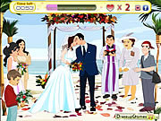 Play Kiss your bride Game